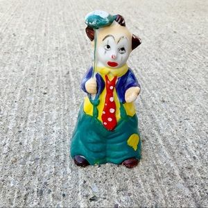 Vintage JSNY Taiwan Hobo Clown bell with umbrella